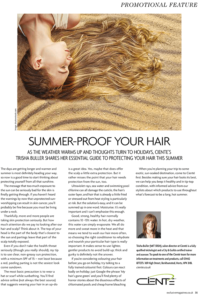 Summer Proof Your Hair
