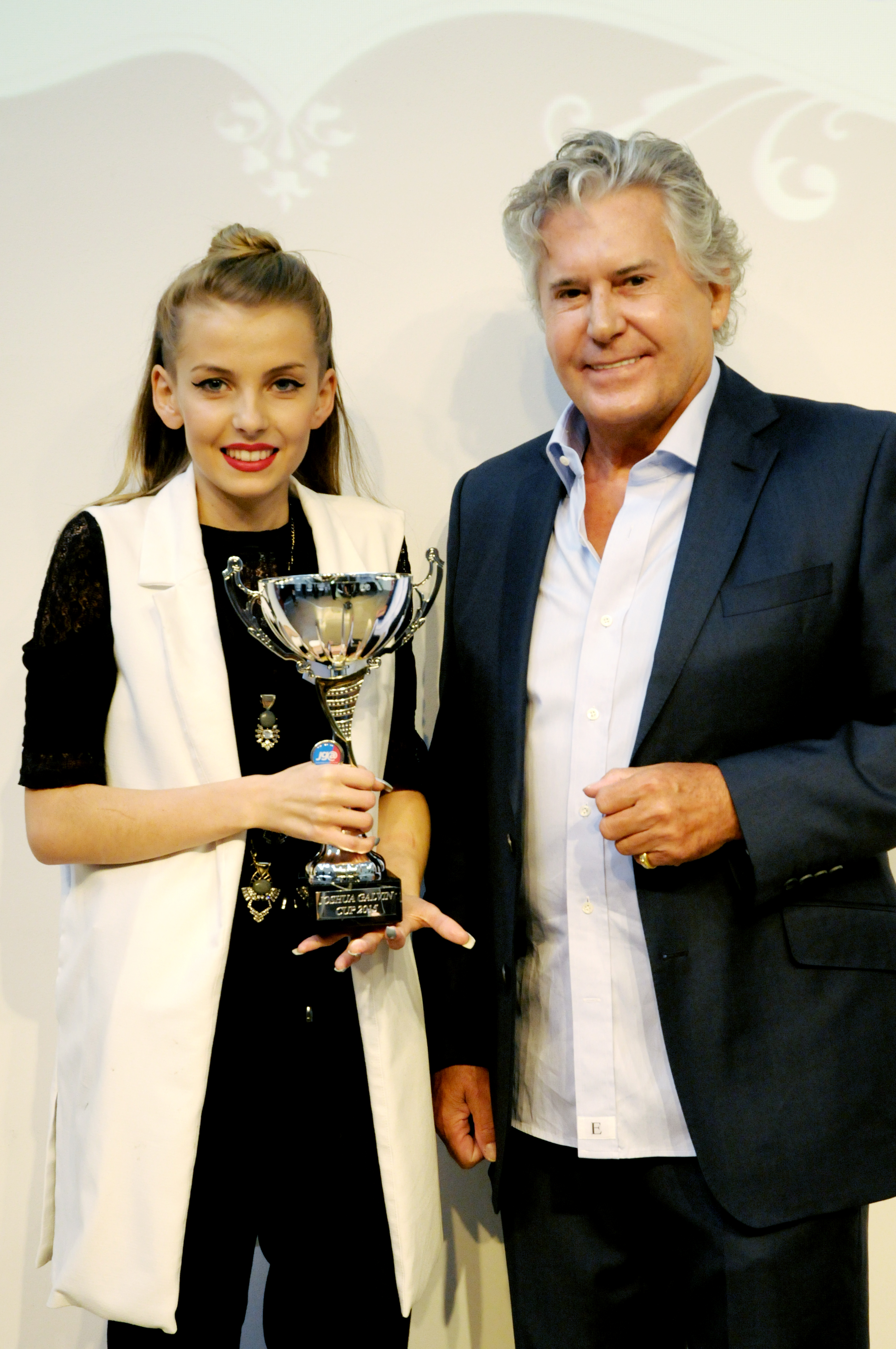 "Amy said: ""I was incredibly pleased to win the category let alone the cup!"